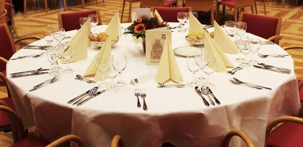 Napkins Full Threads Damask First Class for Gastro HOTEL BISTRO WEDDING Care
